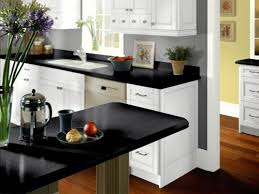Image Of Kitchen Design White Cabinets Wood Floor