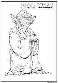 Star Wars Master Yoda Coloring Pages 27