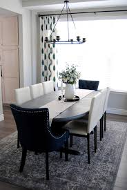 Dining Room Mix And Match Chairs White Decor Teal Aloof