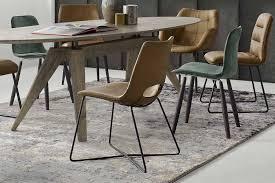wk wohnen moderner kreuzkufen stuhl no 7003
