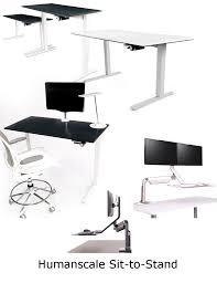 humanscale office furniture ergonomic office design