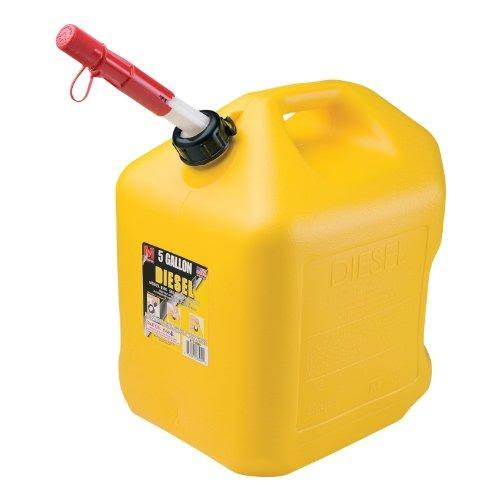 Midwest Diesel Can - 16.9l, Yellow