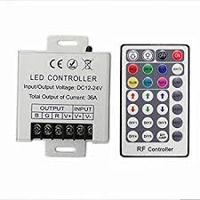 20 Key Wireless RF Remote RGB LED Light Strip Controller for 5050