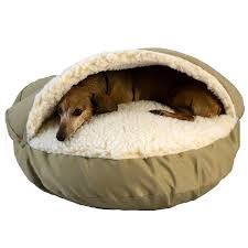 Amazon Snoozer Cozy Cave Khaki Small Pet Beds Pet Supplies