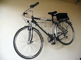 Ceiling Mount Bike Lift Walmart by Garage Organized With Slatwall Bicycle Rack Hooks A Custom Built