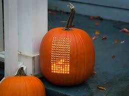 Boston Terrier Pumpkin Pattern by 25 Creative Pumpkin Carving Ideas