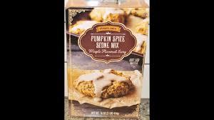 Starbucks Pumpkin Scone Recipe Calories by Trader Joe U0027s Pumpkin Spice Scone Mix With Maple Flavored Icing