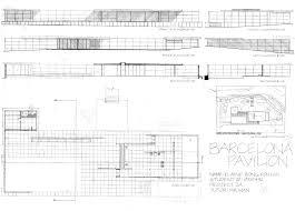100 Barcelona Pavilion Elevation Elaine Bong EPortfolio Design Communication