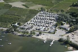 Osoyoos RV Park Aerial Photo Island View Resort