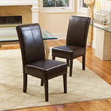 Shop T-stitch Chocolate Brown Leather Dining Chairs (Set Of 2) By ... Ding Chair Buying Guide Hayneedle Clearance Koebers Interiors Crocodile Chairs Online Accents Of Salado Tuscan Decor Fniture Beautify Your Home With Unique And Handmade Genuine Leather Room Madison Walnut Barley Twist Set 8 Chairish Zola 2 Dark Chocolate Stools Floridian Side Fabric Or Custom Upholstered Southwestern Sunset Western Passion Wingback White Parsons