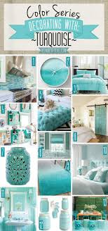 Color Series Decorating With Turquoise