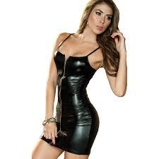 online get cheap latex evening dress aliexpress com alibaba group