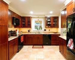 White Kitchen Black Appliances Kitchens With Com 9 Off Cabinets