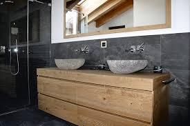 echtholzmöbel im badezimmer architektur technik