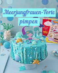 meerjungfrauen torte i mermaidcake