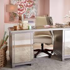 Hayworth Mirrored 3 Drawer Dresser by Hayworth Mirrored Storage Desk U2013 Goodglance