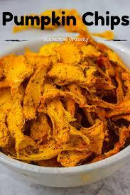 Ways To Make A Pumpkin Last Longer by Pumpkin Chips How To Make Savvy Naturalista