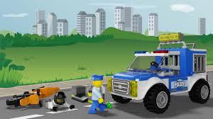 100 Lego Police Truck Chase LEGO Juniors 10735 YouTube