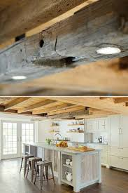 100 Rustic Ceiling Beams Modern Farmhouse Lighting With Wood Beam ID Lights