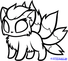 Chibi Animals Coloring Pages Dragoart Cute Baby Animal