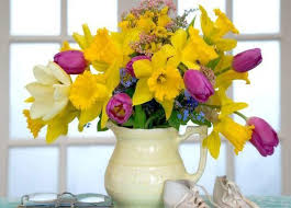 22 Ideas For Spring Home Decorating With Flowers Simple Flower Arrangements