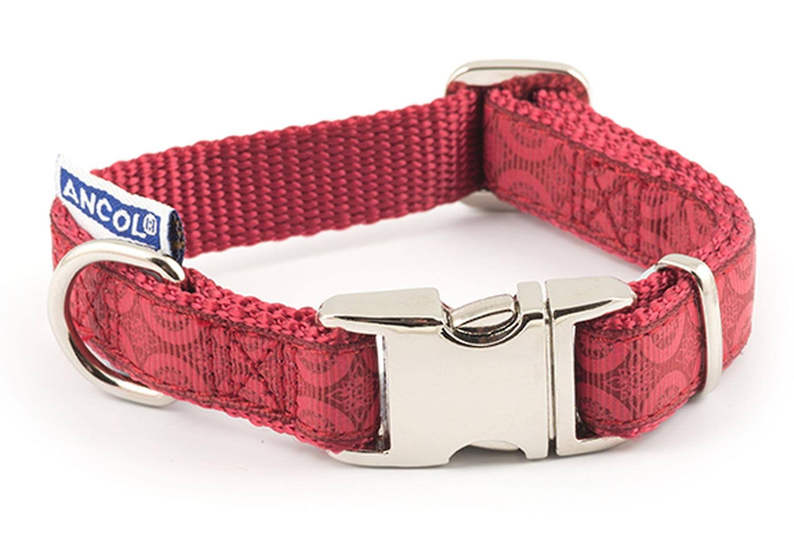 Ancol Indulgence Adjustable Collar Red