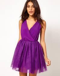 purple party dress with velvet trim purple party dress