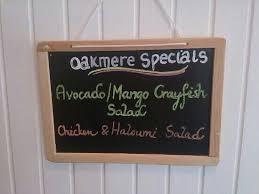 Oakmere Tea Dining Room Specials Yummy