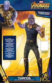 Amazoncom Rubies Mens Marvel Avengers Infinity War Thanos Deluxe