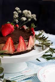 glutenfreie erdbeer schokomousse torte sasibella