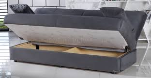 Jennifer Convertible Sofa Bed by Sofa Bed In Rainbow Dark Gray Fabric By Sunset