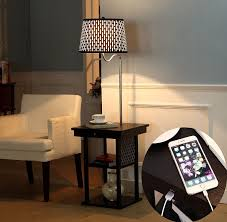 Floor Lamp With Attached End Table by Best Modern Floor Standing Lamps On Amazon Reviews Findingtop