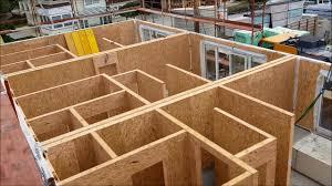 100 Haus Construction Holz Montage KIT Dreireihenhaus Mit Satteldach TEIL 12