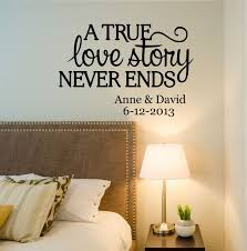 Love Story Quote Wall Decal By Decor Designs Decals Bedroom Decalsfamily Name Family Signs Every DecalRomantic