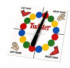 Game Clipart Twister 4