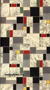 1942 Linoleum Patterns From Congoleum