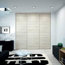 porte de placard chambre kazed portes de placard coulissantes kabourg naturel dressing