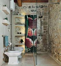 Rustic Bathtub Tile Surround by Bathroom 2017 Beauty Rustic Bathroom With Frameless Glass Shower