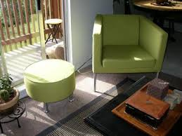 Ikea Poang Chair Cover Green by One White Armchair Two Black Cats And A Greenish Brew In The Tub