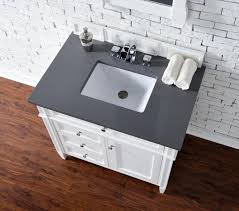 Distressed Bathroom Vanity 36 by Contemporary 36 Inch Single Bathroom Vanity White Finish No Top