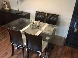 esszimmer esstisch und 4 stühle massivholz