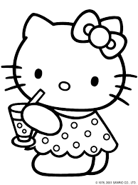 Ideas Collection Hello Kitty Printable Coloring Pages On Summary