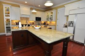 Kitchen Island White T Shaped Layouts With