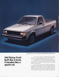 100 Rabbit Truck Vw Rabbit Truck Ad VolkswagenGol Volkswagen Gol Pinterest