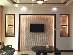Decoration Appealing Bamboo Wall Of Tv Room Backsplash With Agreeable Mounted And Fetching