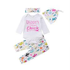 Großhandel Neugeborenes Baby Mädchen Jungen Kleidung Brief Strampler
