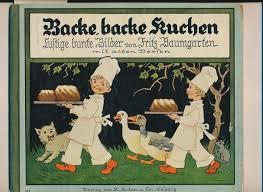 backe backe kuchen lustige bunte bilder mit alten versen