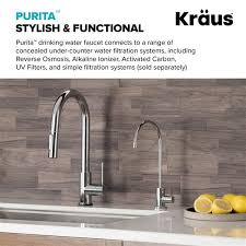 Kitchen Faucet Water Kraus Purita Water Dispenser Beverage Kitchen