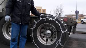 Commercial Vehicle Tire Chain Install - Kansas City Trailer Repair ... Risky Business Tire Repair Has Its Share Of Dangers Farm And Dairy Photo Gallery Tirechaincom Trucksuv Cable Chains Installation Youtube Top 10 Best For Trucks Pickups Suvs 2018 Reviews Semi Heavy Duty Truck Parts Over Stock Merritt Products Chain Carriers How To Install On A Driver Success Snow For Grip 4x4 Make Rc Truck Stop Hanger