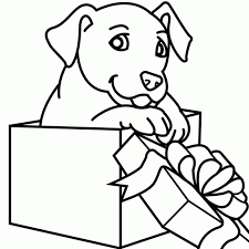 Puppy Print Out Coloring Pages